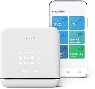 tado° Contrôle Connecté et Intelligent de la Climatisation et pompes à chaleur V3+, Installez par vous-même, Designed in G...
