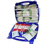 Safety First Aid Evolution Plus Kit de primeros auxilios para catering BS 8599, pequeño (estuche azul)