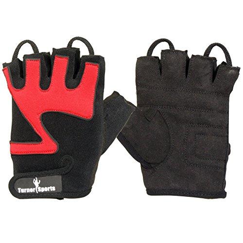 TurnerMAX Neopren-Handschuhe, Rot/Schwarz schwarz rot L