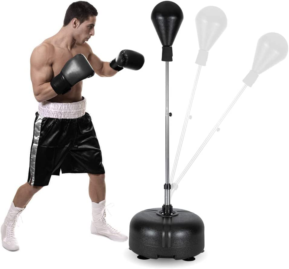 Boxing Speed Ball Punching Bag Quick Puncher Training Punching Speed and Reflex