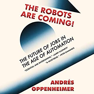 The Robots Are Coming! audiobook cover art
