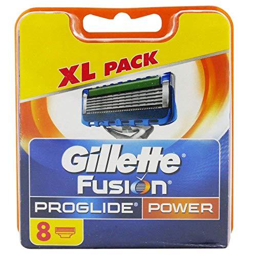 8 | 16 | 32 Klingen Gillette Fusion, Fusion Power, ProGlide oder Proglide Power Rasierklingen (Gillette Fusion Proglide Power, 8 Klingen)