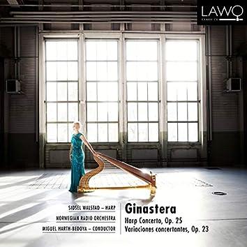 Ginastera: Harp Concerto, Op. 25 / Variaciones concertantes, Op. 23