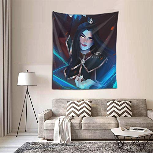 Woidxzxza Azula - Avatar The Last Airbender - Fan Art Tapestry Wall Hanging with Art Nature Home Decorations for Room Bedroom Living