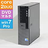 【良品中古】 DELL OPTIPLEX 960 SFF (Core2Duo 3.00GHz/ メモリ2GB/ HDD160GB/ DVDスーパーマルチ/ 7Pro64bitインストール済み)