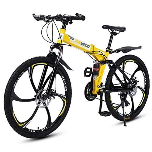 Archer 26 Inch Variabele Snelheid Vouwen Mountainbike Student Sport Fiets Schokabsorptie Kid Bike Jongens & Meisjes Dubbele schijf