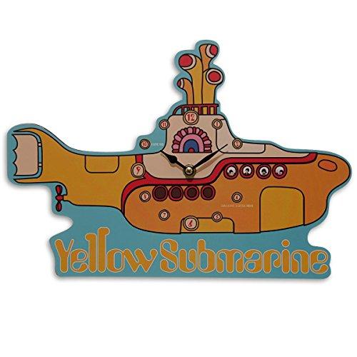Reloj de Pared The Beatles 'Yellow Submarine' (El Submarino Amarillo)