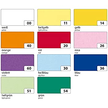 700 x 1 m 42 g//qm orange auf Rolle L B folia Transparentpapier