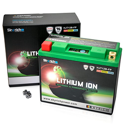Skyrich Hjt12B-Fp Batería Recargable Industrial Litio 12 V - Batería Ila Recargable (Litio, 12 V, 1 Pieza(S))