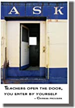 Best teachers open the door you enter by yourself Reviews