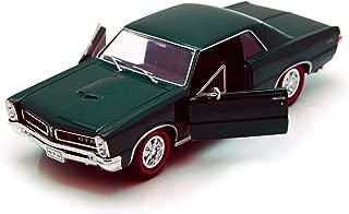 Welly 1965 Pontiac GTO, Green 22092 - 1/24 Scale Diecast Model Toy Car