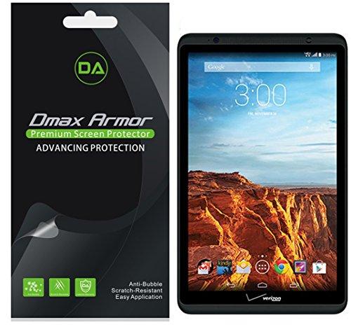 [3-Pack] Dmax Armor for Verizon Ellipsis 8 Anti-Glare & Anti-Fingerprint Screen Protector - Lifetime Replacement