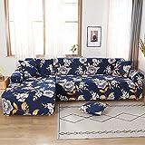 Funda de sofá elástica para Sala de Estar Funda de sofá reclinable en Esquina Funda de sofá en Forma de L Funda de Muebles Decoración de Sala de Estar para el hogar A11 1 Plaza
