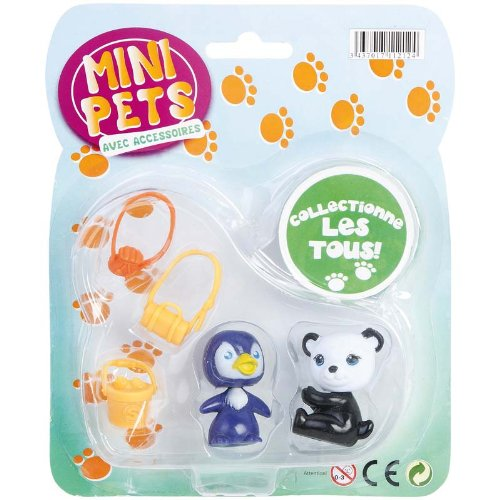 WDK PARTNER - A1100046 - Figurines - 2 Petits Animaux