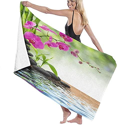 Toallas de playa, composición de purpurina brillante como fondo, toalla de baño altamente absorbente para baño, hotel, gimnasio, spa, viajes, 132 x 81 cm, estilo 22 – 132 x 81 cm