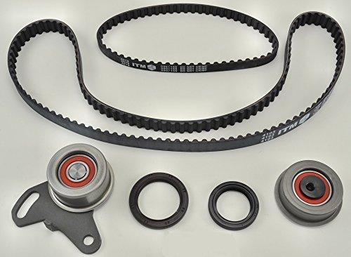 ITM Engine Components ITM124 Timing Belt Kit for 1985-1992 Mitsubishi/Dodge/Hyundai 2.4L L4, G54B/4G64