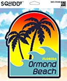 Squiddy Ormond Beach Florida - Vinyl Sticker Decal for Phone, Laptop, Water Bottle (3' high)