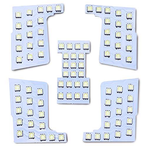【M&L社製 1年保証】長寿命 プロ御用達 車種専用設計 ルームランプ LED パーツ セット (セレナ C27)
