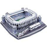 Santiago Bernabéu Puzzle 3D Modelo, Modelos de Bricolaje Estadio de fútbol Bulding, el Real Madrid F.C Aficionados Regalo del Recuerdo, Educativo Rompecabezas de Juguete