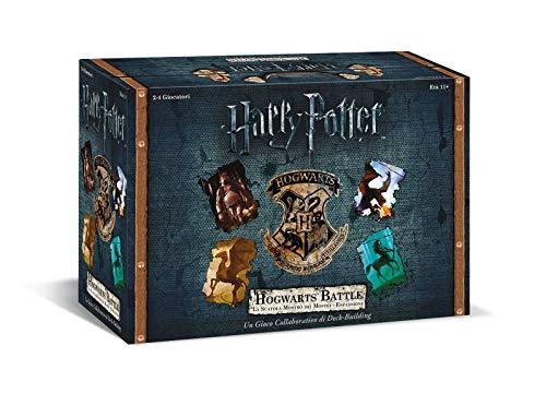 Asmodee 8137 Harry Potter Hogwarts Battle, La Scatola Mostro dei Mostri, Espansione Gioco da Tavolo, Edizione in Italiano, 11 anni+