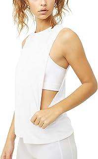 لباس ورزشی ناز زنان Bestisun پیراهن های ورزشی ورزشی Muscle Gym Tank Activewear تابستان خنک مخزن بالا با برش بازوی کم