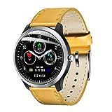 Hili watches Montre Intelligente, PodomèTre Fitness Tracker Ip67 éTanche PPG + ECG Hrv Rapport Rapport Multifonctions Sport Bracelet Cadeau,C
