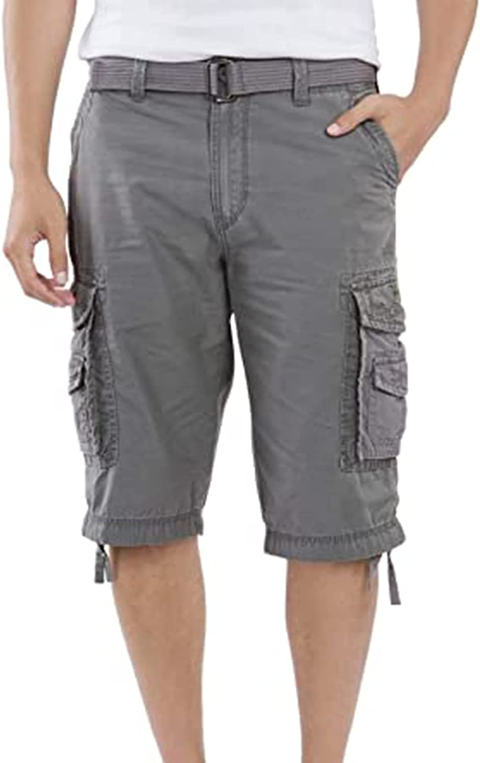 Cargo Shorts for Men Relaxed Fit, Waterproof Tactical Shorts Breathable Hiking Shorts with Pockets Quick Dry Outdoor