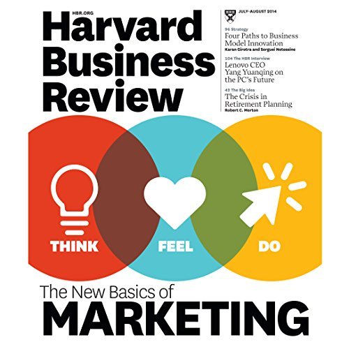 Harvard Business Review, July/August 2014 audiobook cover art