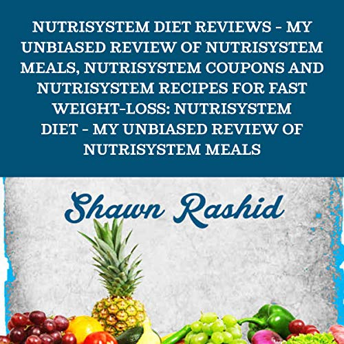 Nutrisystem Diet Reviews audiobook cover art