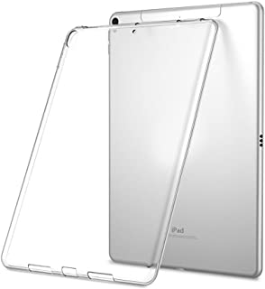 LEDNICEKER Case for iPad 9.7 2018/2017 Model - Light Weight Shock Proof Ultra-Thin Impact Resistant Flexible Soft Transparent TPU Case for iPad 9.7-inch 2017/2018 Previous Gen (iPad 5 & 6) - Clear