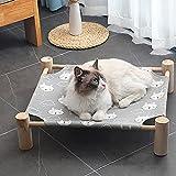 ZS ZHISHANG Cama de nido de gato lavable para gatos Cool Nest Suministros para mascotas Cama de perro Cama de perro Casa suave y cómoda