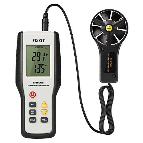 FIXKIT Digital Anemómetro para Medir la...