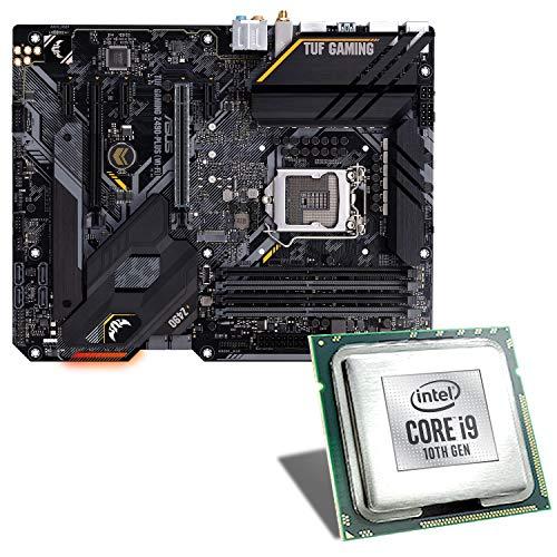 Intel Core i9-10900K / ASUS TUF Z490-PLUS Gaming WiFi Mainboard Bundle | CSL PC Aufrüstkit | Intel Core i9-10900K 10x 3700 MHz, GigLAN, 7.1 Sound, USB 3.2 | Aufrüstset | PC Tuning Kit
