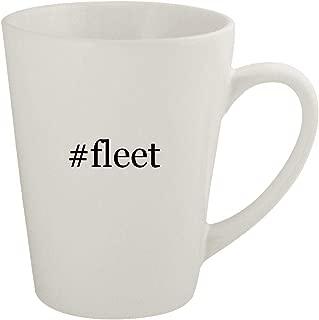 #fleet - Ceramic 12oz Latte Coffee Mug
