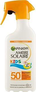 Garnier Ambre Solaire Crema Protezione Solare Latte Classico Kids, Idratante, Assorbimento Ottimo, IP50+, 300 ml, Confezio...