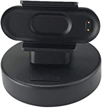 U-smile Smart Watch Charging Dock Stand,Portable Disassembly-Free Charger for Xiaomi MI Band 4 USB Data Sync Charge Cradle Dock Charger Clip Smart Watch Accessories