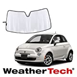 [WeatherTech 正規品] フィアット 500 2012年式以降現行 フロントサンシェード
