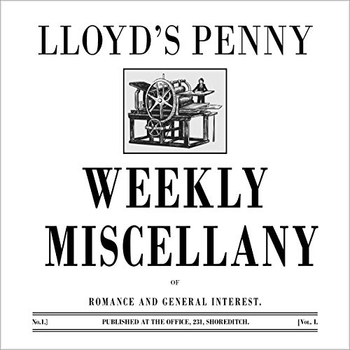 Couverture de Lloyd's Penny Weekly Miscellany of Romance and General Interest