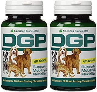 American Biosciences DGP (Dog Gone Pain) 60 Tablets - 2 Pack by American BioScience