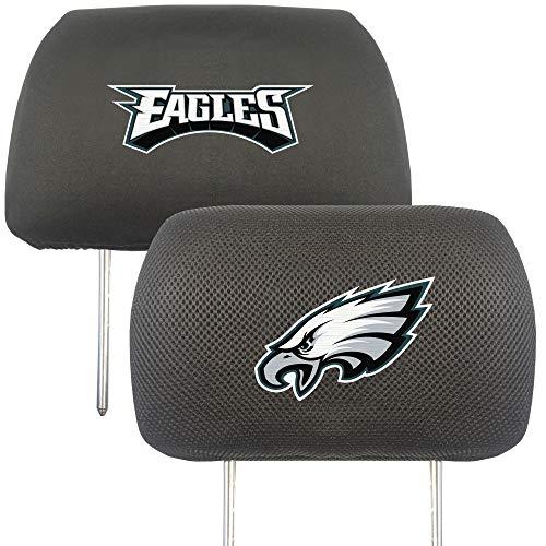 FANMATS NFL Philadelphia Eagles Auto Headrest Covers, Team Colors, One Size