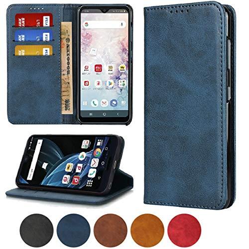 Oneplus 7 pro ケース OnePlus7 pro スマホケース カバー 1+7 pro 携帯カバー One Plus 7 pro ワンプラス 7 pro スマホケース ワンプラス7 pro 携帯ケース 手帳型 Jaorty 人気 内蔵マグネットPU合成皮革 財布型 カード収納 スタンド機能-ブルー