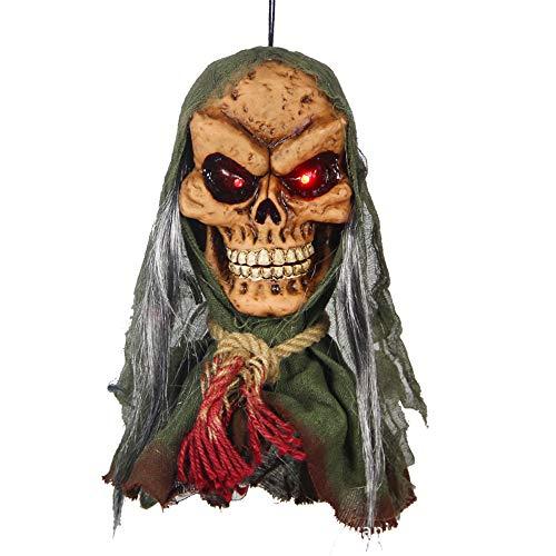 Jia Hu 1pc Halloween Props Disposición Suministros Inducción Eléctrica Fantasma Temblor Decoración...
