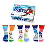 On The Piste Ski Oddsocks Socken in 39-46 im 6er Set - Strumpf