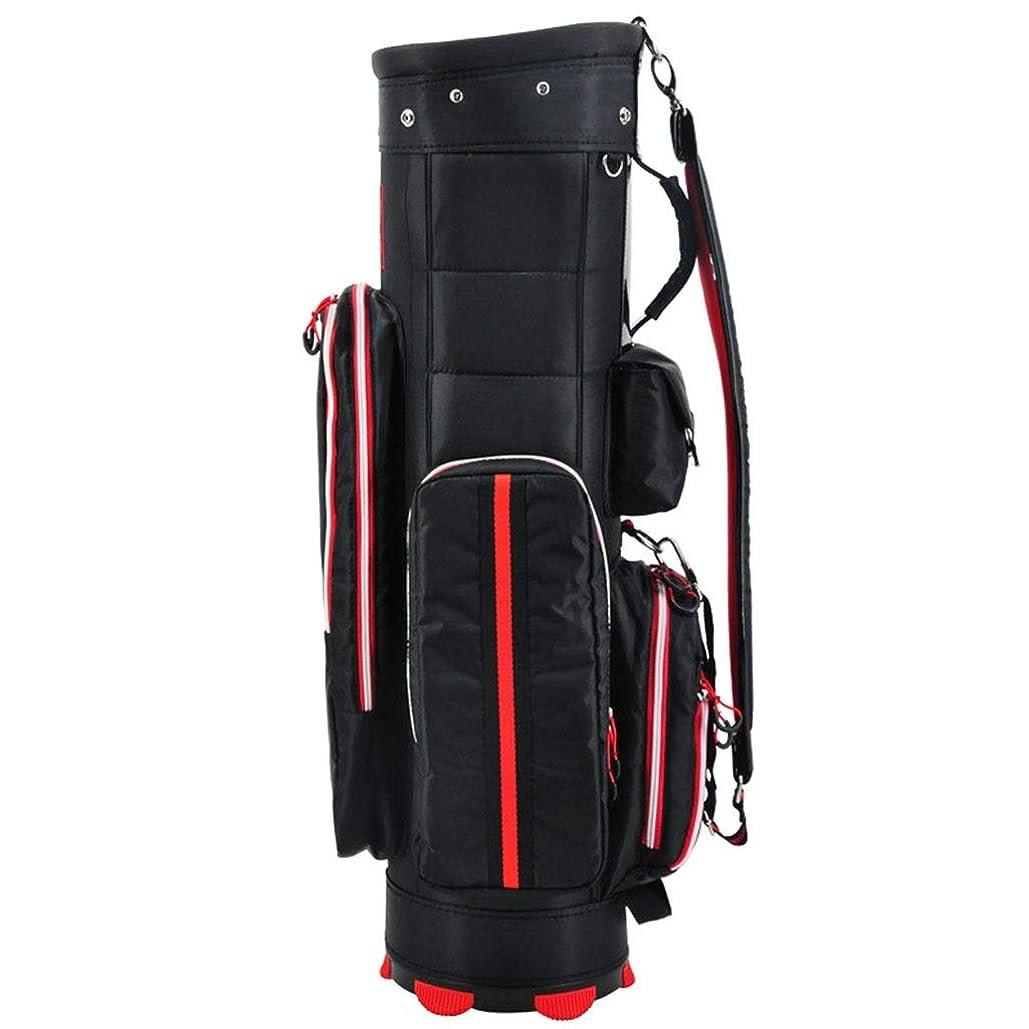 北米ペニー読みやすさゴルフバッグ、軽量および携帯用、防水素材、マルチカラーオプション NTWXY (Color : Black)