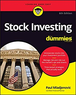Stock Investing For Dummies by [Paul J. Mladjenovic]
