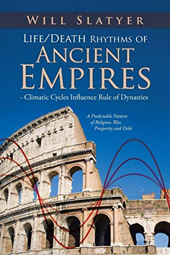 Compare Textbook Prices for Life/Death Rhythms of Ancient Empires - Climatic Cycles Influence Rule of Dynasties: A Predictable Pattern of Religion, War, Prosperity and Debt  ISBN 9781482894073 by Slatyer, Will