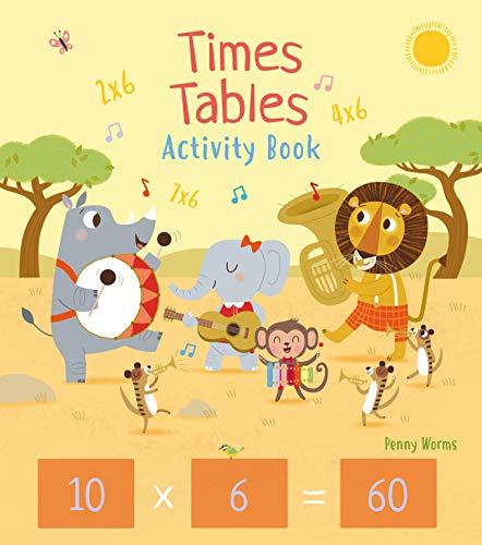 Times Tables Activity Book: 2 (Arcturus Math Skills Workbooks)