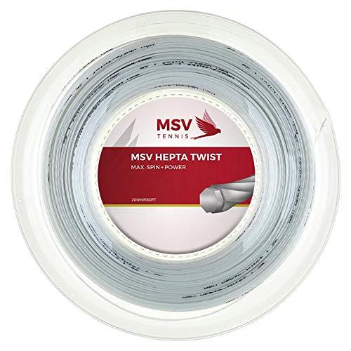 Malva deportes | MSV Hepta 130carrete cuerda para raqueta de tenis | msvhepta130r