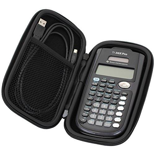 Guerrilla Hard Travel Case for TI-30X llS, TI BA ll Plus, TI-34 Multi View, TI-36X Pro, TI BA ll Plus Professional, and TI-30XS multi view Calculators, Pink Photo #5