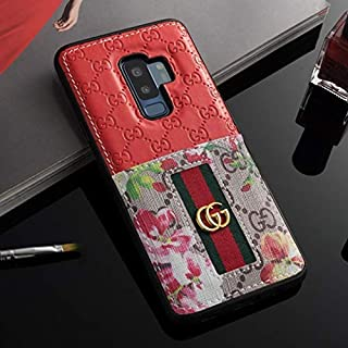 Galaxy Note 9 Case- US Fast Deliver Guarantee FBA- Elegant Luxury PU Leather Designer Case with Card Holder Slot Cover Case for Galaxy Note 9